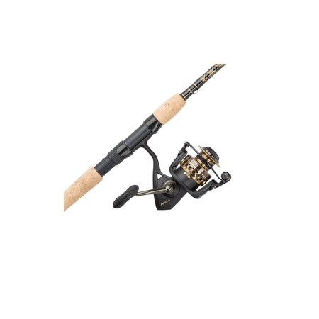 Penn Battle II Spinning Reel and Fishing Rod Combo (Levelwind Combo)