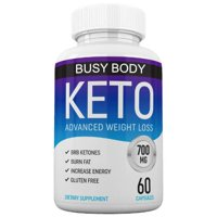 Keto Diet by Busy Body Nutrition - Keto + MCT Advanced Weight Loss Supplement- Burn Fat Instead of Carbs- Ketogenic Fat Burner to Support Healthy Weight Loss- Boost Keto Trim Results- 30 Day Supply