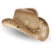 e51525277fc Women s Straw Cowboy Hat