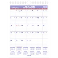 "2018 AT-A-GLANCE Mini Monthly Wall Calendar, 12 Months, January Start, 8"" x 11"", Wirebound (PM1W28)"