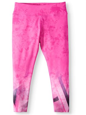 Printed Active Capri Legging (Little Girls & Big Girls)
