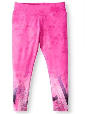 Girls' Printed Active Capri Legging