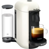 Nespresso VertuoPlus Coffee and Espresso Maker by Breville, White