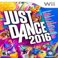 Just Dance 2016, Ubisoft, Nintendo Wii, 887256013998