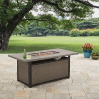 """Better Homes and Gardens 60"""" Rectangle Fire Pit - Gas"""
