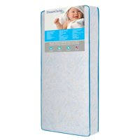 Dream On Me Twinkle Star Crib and Toddler 117 Coil Mattress