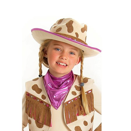 Rhinestone Cowgirl Hat Halloween Costume Accessory](Cowgirl Costume Ideas)