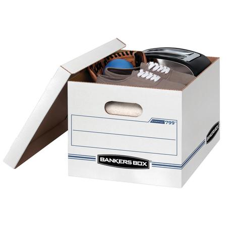 Dorade Box (10 Count Bankers Box Stor/File Storage Box with Lift-Off Lid, Letter/Legal, 12