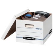 4714a8b3910 10 Count Bankers Box Stor File Storage Box with Lift-Off Lid