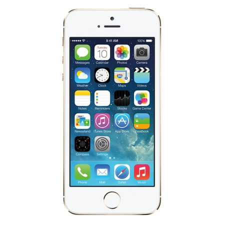 Refurbished Apple iPhone 5s 32GB, Gold - Unlocked GSM (Apple Ipod 4th Generation 32gb)