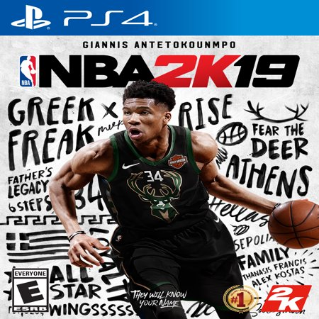 NBA 2K19, 2K, PlayStation 4, 710425570490 (Nba Mvp)