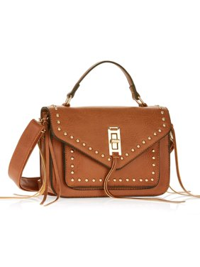 9e68eaa3a21 Product Image Metallic Sky Studded Crossbody With Fringe