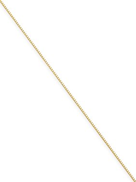 14kt Yellow Gold .7mm Box Chain