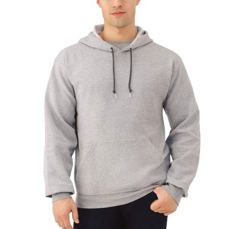 Play Hoody Sweatshirt (Fruit of the Loom Men's Dual Defense EverSoft Pullover Hooded)