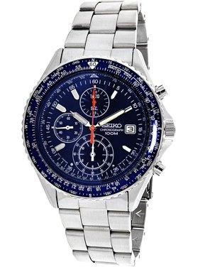 Men's SND255 Silver Stainless-Steel Japanese Quartz Dress Watch