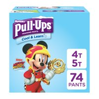 Pull-ups Boys' Cool & Learn Training Pants (Choose Size and Count)