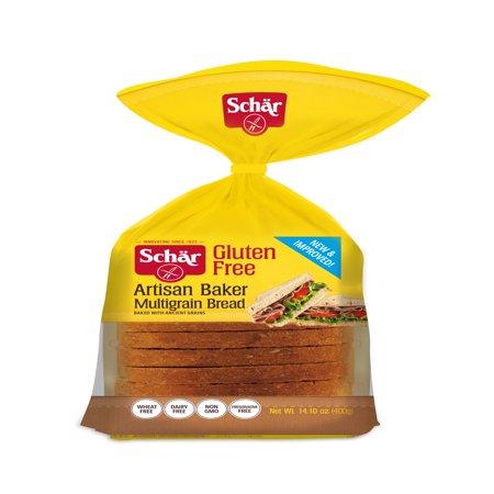 Schär Gluten Free Artisan Baker Multigrain Bread, 14.1