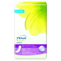 Tena Incontinence Pads, InstaDRY Heavy, Long, 10 Ct