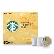 Starbucks Veranda Blend K-Cup Coffee Pods, Blonde Roast, 32 Count