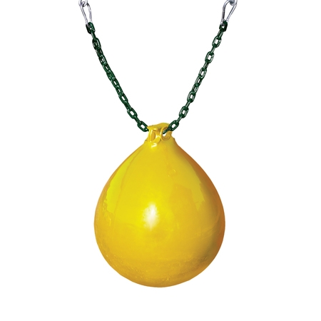 Gorilla Playsets Buoy Ball with Green Chain and Spring Clips - (Buoy Ball Swing)
