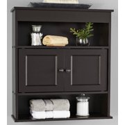 Mainstays Bathroom Wall Cabinet Espresso