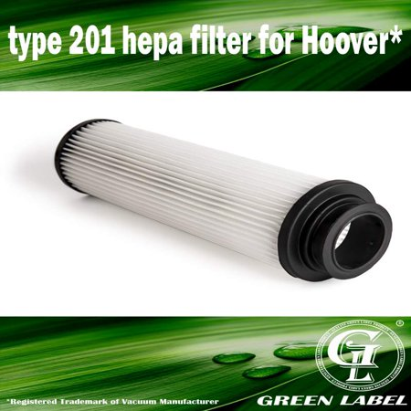- Type 201 Hepa Filter for Hoover Windtunnel, Savvy, Empower, model UH40125. Replaces Hoover Part # 40140201, 42611049, 43611042. Long-life Washable and Reusable. Genuine Green Label product