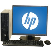 "Refurbished HP 7800 Desktop PC with Intel Core 2 Duo Processor, 4GB Memory, 19"" Monitor, 250GB Hard Drive and Windows 10 Home"