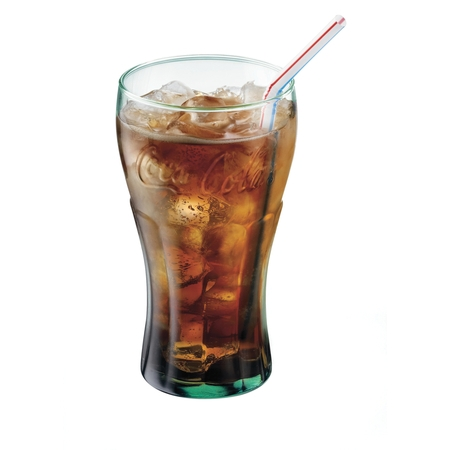 Glass Football Tumbler (Libbey 16.75-oz Coca Cola Glass Tumblers, Set of 12 )