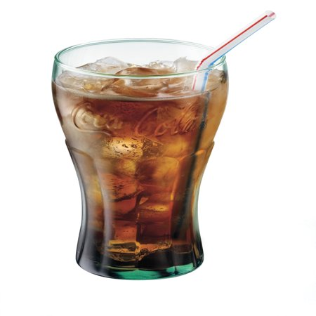 Libbey 16.75-oz Coca Cola Glass Tumblers, Set of 12 ()