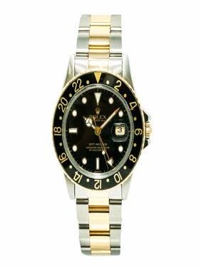 Rolex Gmt Master 16753 Steel  Watch (Certified Authentic & Warranty)
