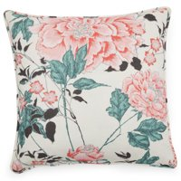 "Vintage Floral Decorative Throw Pillow, 20x20"" by Drew Barrymore Flower Home"