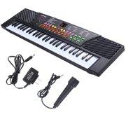 New 54 Keys Music Electronic Keyboard Kid Electric Piano Organ W/Mic Adapter