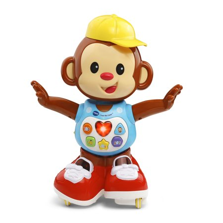 VTech Chase Me Casey Monkey Playfully Encourages Walking and Dancing](Monkey Toys)