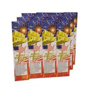 72pc 8 Gold 4th Of July New Years Party Sparklers 1 Packages