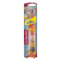 (2 pack) Colgate Kids Battery Powered Toothbrush, Minions