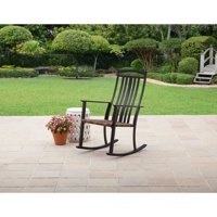 Better Homes & Gardens Belle Drive Outdoor Steel Wicker Rocking High Back Chair