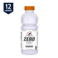 Gatorade Zero Sugar Thirst Quencher, Glacier Cherry, 20 oz Bottles, 12 Count