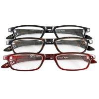fabd442101 Product Image Half Eye Style Magnifying Reading Glasses +5.0 Set of 3 Pairs  ValuPac