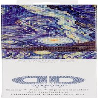 "Diamond Dotz Diamond Embroidery Facet Art Kit 23""X19"" Starry Night (Van Gogh)"