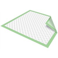 Chux Disposable Underpads by Healthline, Disposable Waterproof Absorbent Incontinence Bed Pads for Adults, Elderly, Pets, Medical Chucks Pads & Mattress Protector, 23X36, 150/Case, Green
