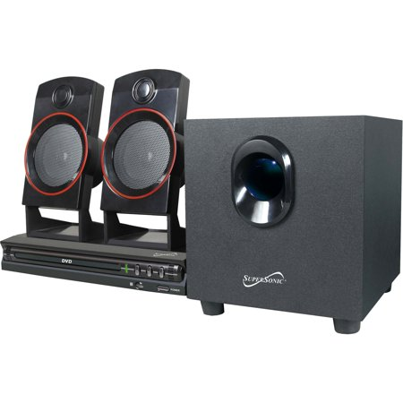 - Supersonic SC-35HT 2.1-Channel DVD Home Theater System