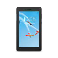 """Lenovo Tab E7, 7"""" Android Tablet, Quad-Core Processor, 8GB Storage, Slate Black, Bundle with Back Cover Included"""