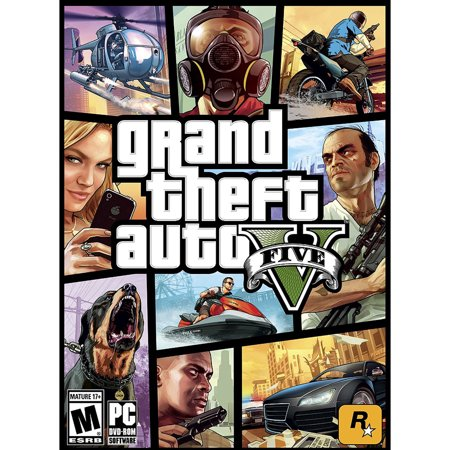 Grand Theft Auto V, Rockstar Games, PC, 710425414534 - Gta 5 No Halloween