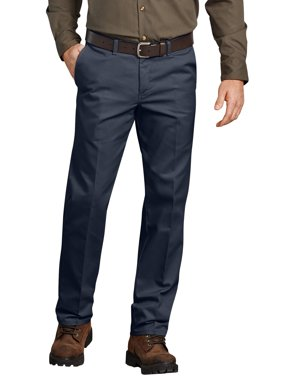 Big Men's Flat Front Comfort Waist Flex Pant
