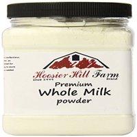Hoosier Hill Farm All American Whole Milk Powder, 2 lbs plastic jar