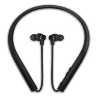 Photive Flex Wireless Bluetooth Stereo Neckband Headphones with Magnetic In-Ear Earbuds. Comfortable Lightweight Sweatproof and Secure-Fit 12-Hour Battery and Microphone