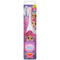 ARM & HAMMER Kids Spinbrush Shimmer and Shine Soft Battery-Powered Toothbrush