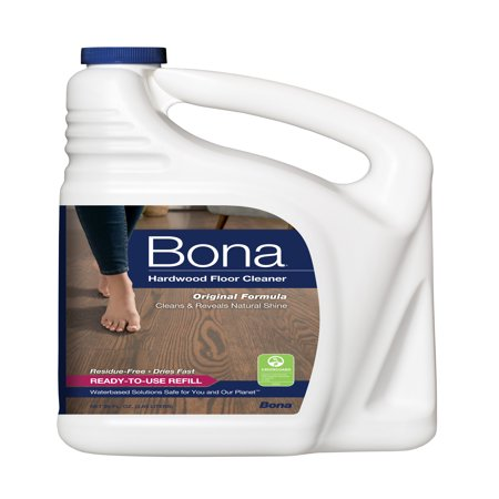 Bona Hardwood Floor Cleaner Refill, 96 fl oz (Best Poly For Hardwood Floors)