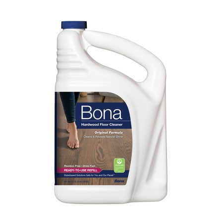 Bona Hardwood Floor Cleaner Refill, 96 fl oz (Wood Floor Cleaner Kit)