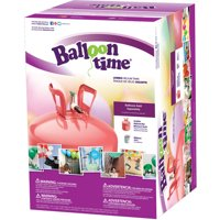 Balloon Time 12in Jumbo Helium Tank, Includes Ribbon